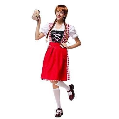 d0de12628b WIDEN ELECTRIC Waiter Cosplay Dress Oktoberfest Costume Classic ...