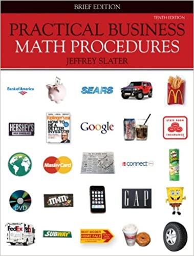Connect access card for practical business math procedures 10th.