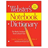 Merriam-Webster 3-Hole Punch Paperback Dictionary Dictionary Printed Book - English - Softcover - 80 Pages