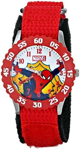 Marvel Kids' W001530 Ultimate Spider-Man Analog Display Analog Quartz Red Watch