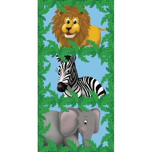Jungle Pals Banner Door Cover (1 per Package) -