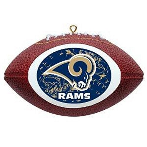 Offically Licensed Los Angeles Rams Replica Football Ornament