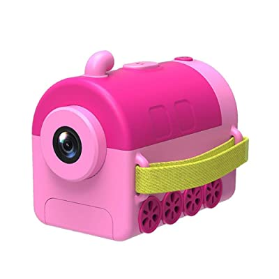 Anti-Fall Kids Camera Toys for Gifts, Child Camera Digital Toy Cute Cartoon Mini Baby Photo Cameras For Kids: Electrónica