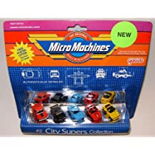 Micro Machines City Supers #2 Collection