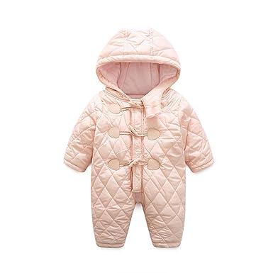30199f377 Amazon.com  Infant Girls Boys Winter Snowsuit Baby Long Sleeve Zip ...