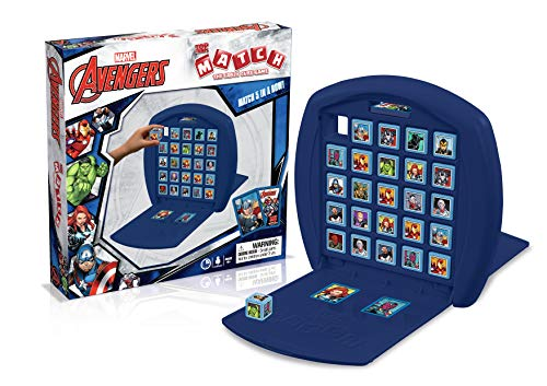 Top Trumps Marvel Avengers Assemble Match Board