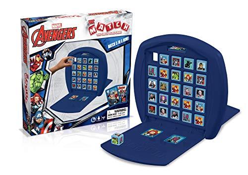 Top Trumps Marvel Avengers Assemble Match Board
