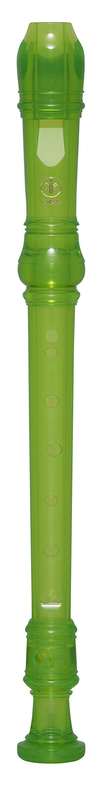 Yamaha YRS-20 3 Piece Soprano Recorder, Green product image