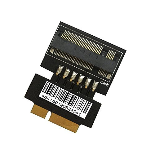 M.2(NGFF) to 18+8 Pin SSD adapter for 2012 MACBOOK Air MD224 MD223 MD231 MD232 by SUPERPLUS