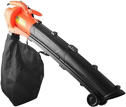 OOFAY 2en1 soplador Aspirador y trituradora de jardín máx 3000W para Hojas Papeles Ramas con Bolsa de Recogida: Amazon.es: Deportes y aire libre