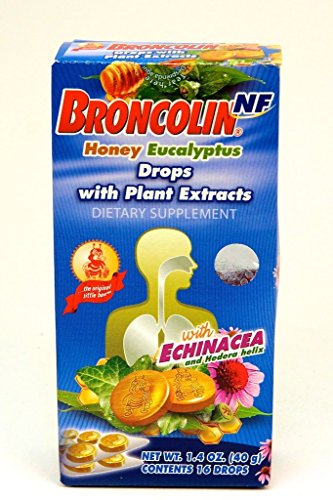 Broncolin Candy Drops- Honey Eucalyptus(pack of 2)