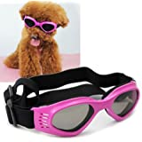 Namsan Stylish And Fun Pet/Dog Puppy UV Goggles Sunglasses Waterproof Protection Sun Glasses For Dog -Pink