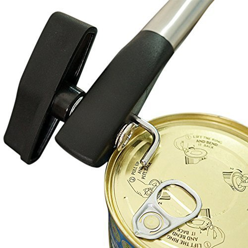 Can Opener-Manual Stainless Steel Anti Slip Smooth Edge Good Cook Cut Side with Soft Grips Handle Cans tin Lid Lifter Kitchen Collection by WYgroup