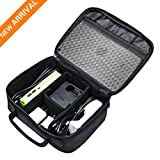 Electronics Travel Organizer Bag Hard Drive Case for Various USB, Phone, Cable, Chargers, Memory cards and Sleeve Pouch Fits for iPad Mini etc.