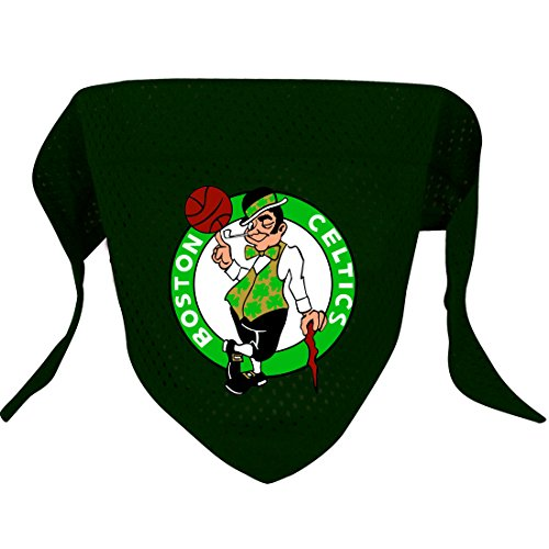 Hunter MFG Boston Celtics Mesh Dog Bandana, Large