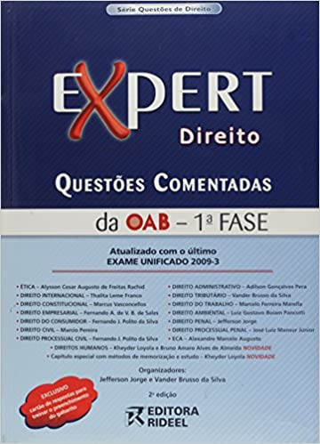 Expert Direito. Questões Comentadas OAB. 1ª Fase