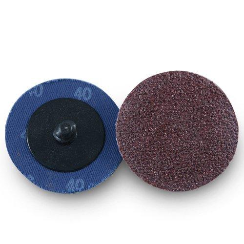 """2"""" Roloc Aluminum Oxide Quick Change Sanding Discs 40 Grit - 25 Pack 51gwklEg1IL"""