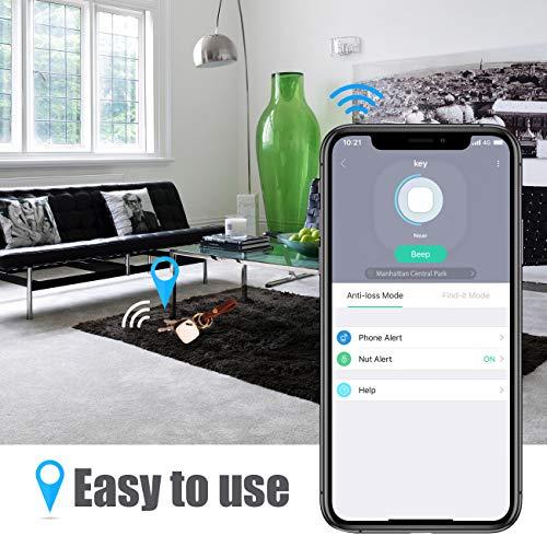 Amazon.com: Nutale Focus Smart Key Finder Bluetooth WiFi ...