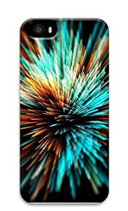 Bright Fireworks Polycarbonate Hard Case Cover for iPhone 5/5S 3D