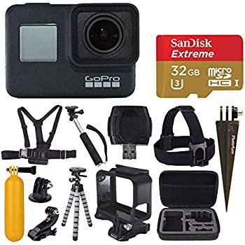 Amazon.com : GoPro Hero7 Black Action Camera with GoPro ...
