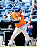 Tyler White Signed Autographed Houston Astros At Bat 8x10 Photo TRISTAR COA