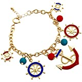 Best Rosemarie Collections Charm Bracelets - Rosemarie Collections Women's Nautical Themed Charm Bracelet Review