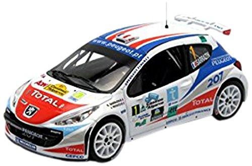 Ixo - Ram287 - Véhicule Véhicule - Miniature - Modèle À L'échelle - Peugeot 207 S2000 - Rallye Casinos Algarve 2007 - Echelle 1/43 19c939
