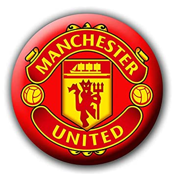 Buy Manchester United Button Badge Size 58 Mm Multi Color Glossy Texture Pure Virgin Plastic Stainless Steel Pin Back Online At Low Prices In India Amazon In