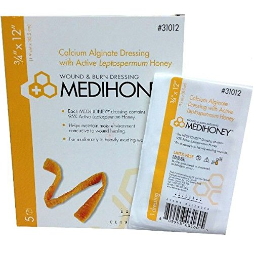 DERMA SCIENCES, INC 31012 Medihoney Calcium Alginate Dres...