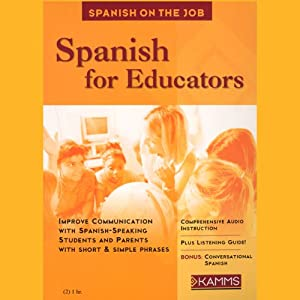 Spanish for Educators Audiobook