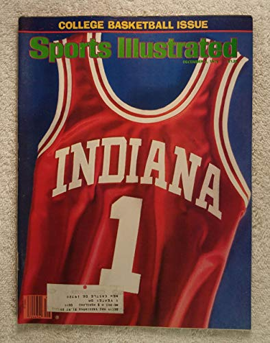 The Indiana Hoosiers are Number 1 - Jersey - Sports Illustrated - December 3, 1979 - College Basketball - -