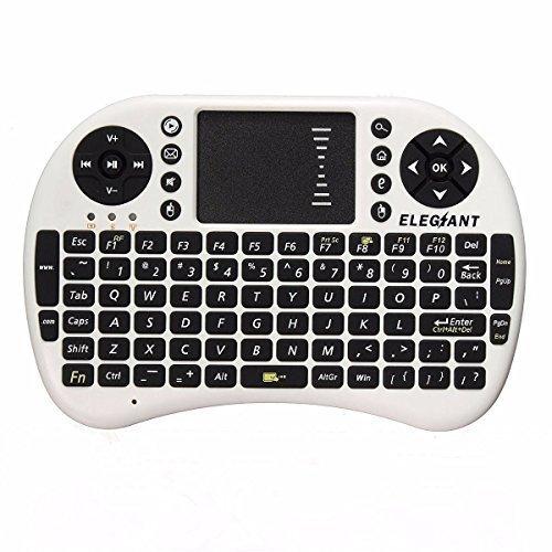 395 opinioni per Mini Wireless Tastiera,ELEGIANT 2.4 GHz Tastiera Senza Fili Touchpad del Mouse