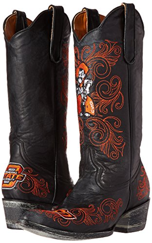 Ncaa Oklahoma State Cowboys Womens 13-inch Gameday Boots Zwart