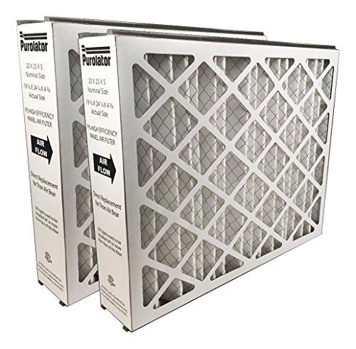 Sur-Seal P5MV8-20X25X5X2 P5-MV8 Purolator High End Filter, Replacement for Trion Air Bear, 20
