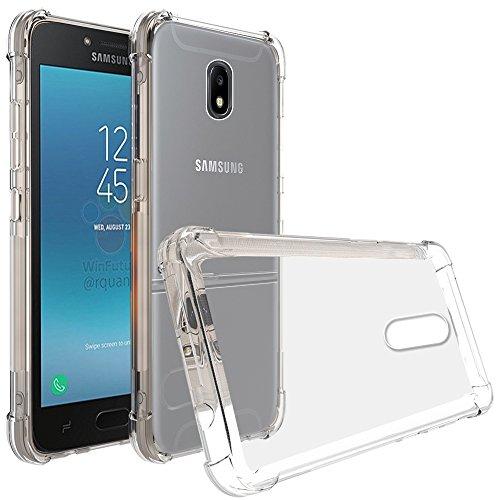 Galaxy J2 Pro 2018 Case, Zeking Ultra Slim Thin Anti-Scratch TPU Rubber Soft Skin Silicone Premium Protective Case Cover for Samsung Galaxy J2 Pro 2018 (Transparent)