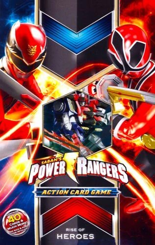 Power Rangers Action Card Game: Rise of Heroes Theme Deck Starter - Rise Card Box