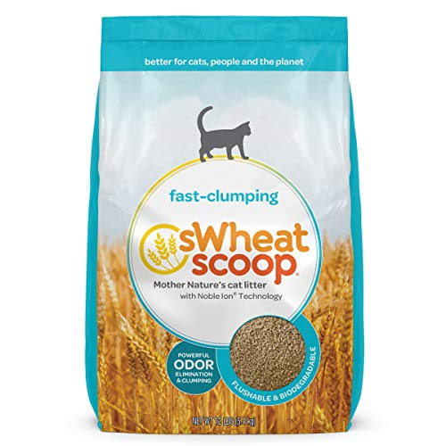 sWheat Scoop Fast-Clumping Litter 36lb
