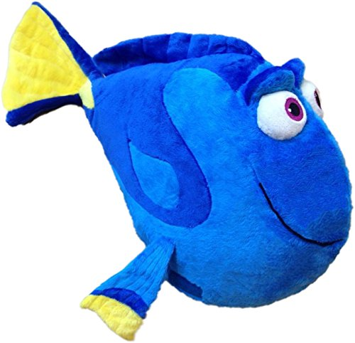 """Pillow Pets Disney Finding Dory 16"""", Blue/Yellow"""