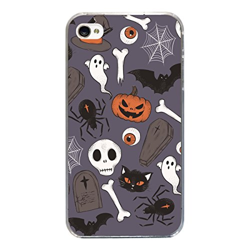 "Disagu SF-sdi-3815_1209#zub_cc3300 Design Schutzhülle für Apple iPhone 4S - Motiv ""Halloweenmuster 01"""