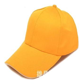XinLuLin Gorra de béisbol Tapa de Trabajo Visera Amarilla más ...