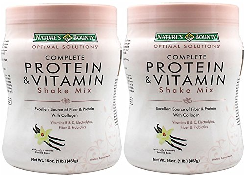 Natures Bounty Solutions Complete Protein