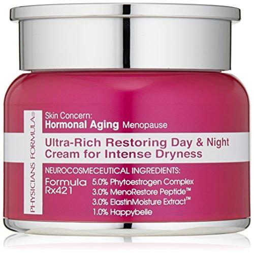 Physicians Formula la peau inquiétude: Journée de restauration ultra-riches vieillissement Hormonal/ménopause & crème de nuit pour la sécheresse Intense, 1 once