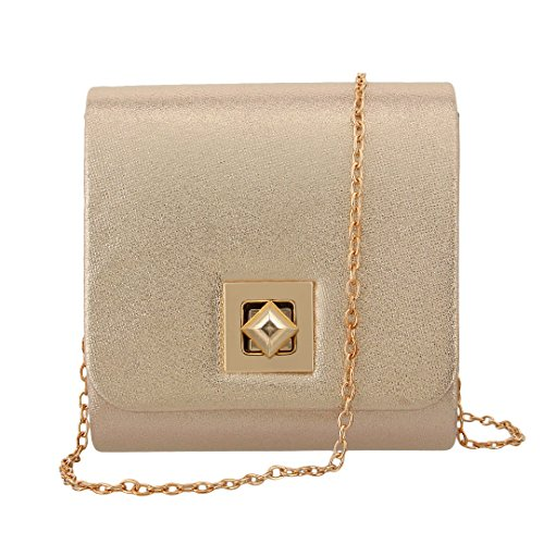Party Elegant 90S Bag Women' Handbag Wedding Shiny apricot Evening Shoulder Bag s Clutch rq0nzqBAw