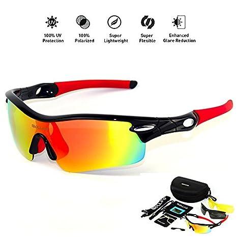 Deportivas Sol De Para Honcenmax Gafas Protección Uv400 Polarizadas TKc3lFJ1