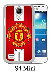 Popular Samsung Galaxy S4 Mini Case ,Manchester United 1 white Samsung Galaxy S4 Mini Cover Beautiful And Durable Designed Case