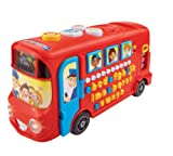 VTech 150003 Playtime Bus Educational Playset, Learning Toy With Phonic Sounds, Letters, Vocabulary, Numbers and...