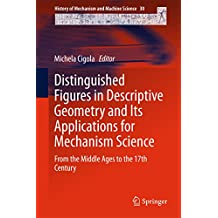 Distinguished Figures in Descriptive Geometry and Its Applications for Mechanism Science: From the Middle Ages to the 17th Century (History of Mechanism and Machine Science Book 30)
