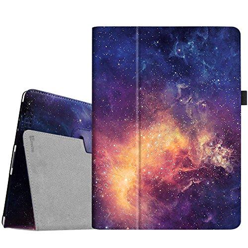 Fintie iPad 4/3/2 Case - Slim Fit Folio Stand Case Smart Protective Cover Auto Sleep/Wake Feature for Apple iPad 2, iPad 3 & iPad 4th Generation with Retina Display - (Z-Galaxy)