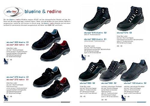 alu-tec 300 blueline - EN ISO 20345 S1 - W12 - Gr. 39