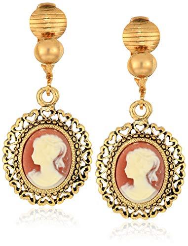 1928 Jewelry Women's Brass...